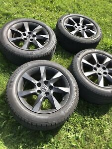 Acura TL mags real 17 inch with tires summer 650nego