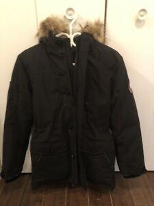 Veste d'hiver noire très chaude  AUBAINE!!!