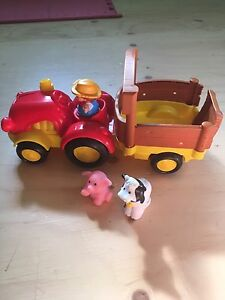 fisher-Price Little People tracteur surprise