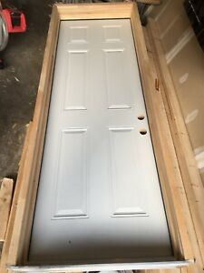 "8' x 32"" man door for garage"