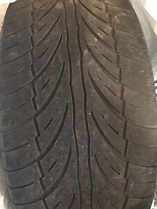 Four (4) Summer tires size 245/ 45ZR18 96W
