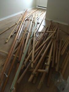 Rampe en bois