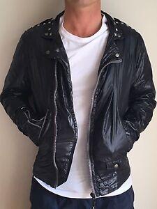Diesel Black/Charcoal Men's jacket small North Melbourne Melbourne City Preview