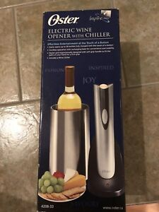 Osler  Electric Wine Opener and Chiller