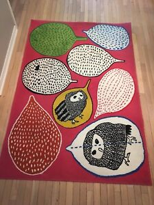 Owl rug and shade
