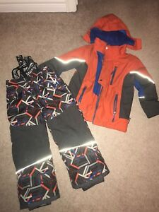 Size 6 boys snowsuit set