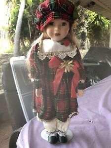 Xmas porcelain doll Clarkson Wanneroo Area Preview