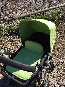 Lime green coloured fabric set for bugaboo Cameleon Freemans Reach Hawkesbury Area Preview