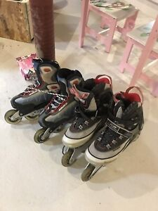 Rollerblades size 10 men's and woman's not sure size