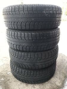 195/60R15 Michelin X-Ice Set Of winter tires