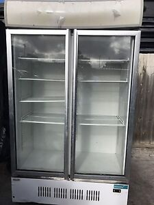 Commercial Two Door Drink Fridge Pascoe Vale Moreland Area Preview