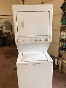 Stackable washer/ dryer