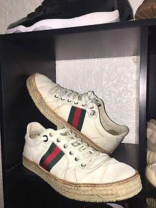 Vintage Woven Gucci Shoes (sz 11)