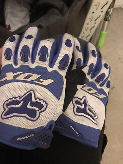 Fox motorbike motocross gloves