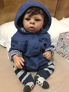 Reborn Baby boy! Lifelike baby doll limited edition