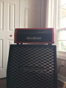 Mesa Boogie 50 caliber amp and 4x12 Cabinet
