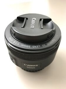 Canon 50mm f 1.8 lens - PERFECT CONDITION