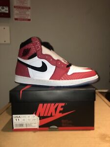 info for d3a0e df027 Jordan 1 Spider-Man sz11 DS