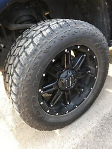 Rims and tires  305/55R20