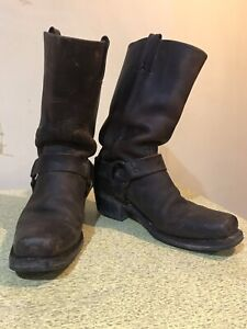 Frye motorcycle boots size 9 w