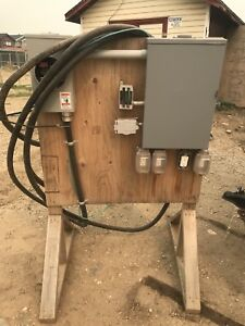 100 amp construction panel