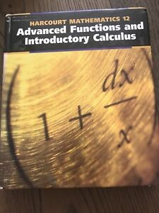 Advanced functions and calculus