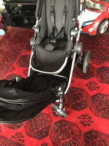City select double stroller in excellent condition