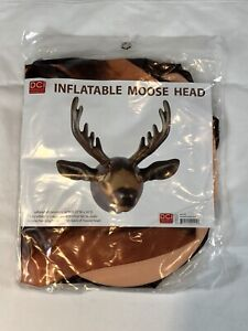 Brand New Inflatable Moose Head Novelty Wall Decoration