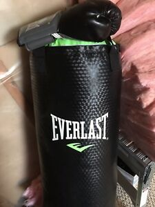 Skates/punching bag