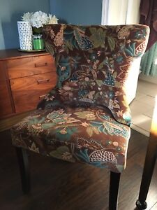 Pier 1 upholstered chair