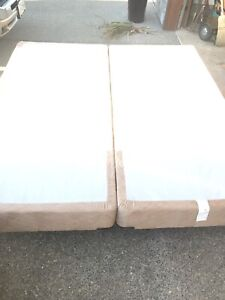 King size metal frame and two boxes