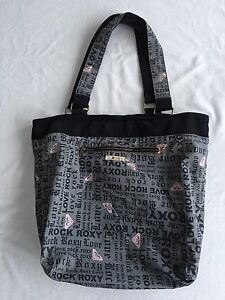 Roxy Large Sized Tote Beach Travel Bag Purse