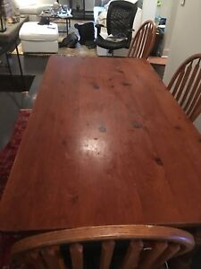 Pine Dining room Table / Home office desk