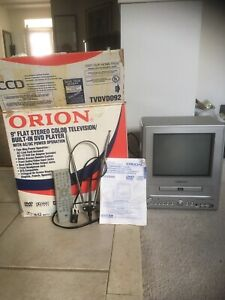 "9"" colour tv / dvd combo"