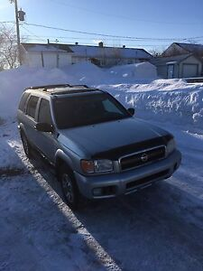 Nissan pathfinder 2004, édition chinook