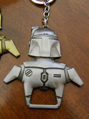 Star Wars Boba Fett / Large Metal Key Chain Bottle Opener