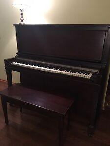 Upright grand piano, L.E.N. Pratte Montreal