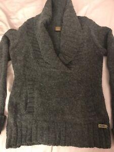 TNA Grey Wool Sweater SMALL