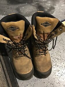 Steel Toe Men's Work Boots