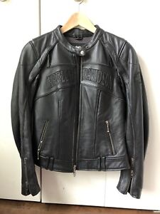 Authentic Harley Davidson Leather Motorcycle Jacket