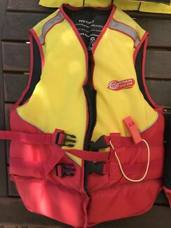 Personal flotation devices (PFD 2) child $5ea small adult $10ea