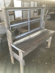 Barn wood table/shelf