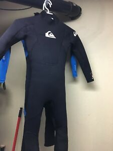 Wet suits . Kids size 8. O'Neil and Quick Silver.
