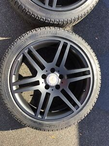 FULL SET OF MICHELIN WINTER TIRES AND RIMS