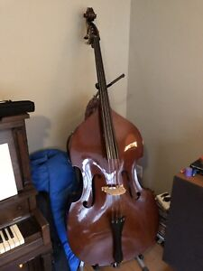 1960's Czech Upright Bass