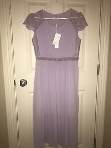 Violet purple formal dress NEW