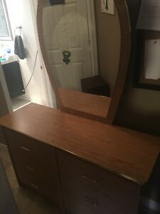 Dresser and night tables.