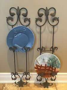 2 Plate Rack/Picture Frame Holders