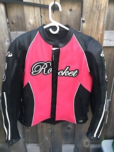 Women's Leather Joe Rocket Motor Cycle Jacket