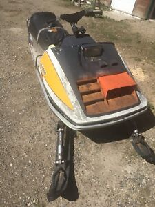 Parting out 1973 Skidoo TNT 400 F/A